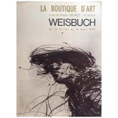 Midcentury Art Exhibition Claude Weisbuch