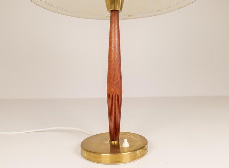 Midcentury ASEA Table Lamp Hans Bergström, Sweden, 1940 For Sale 3