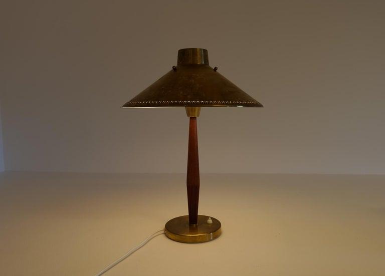 Midcentury ASEA Table Lamp Hans Bergström, Sweden, 1940 For Sale 8