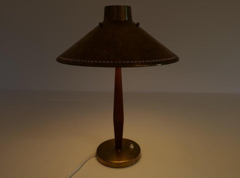Midcentury ASEA Table Lamp Hans Bergström, Sweden, 1940 For Sale 9