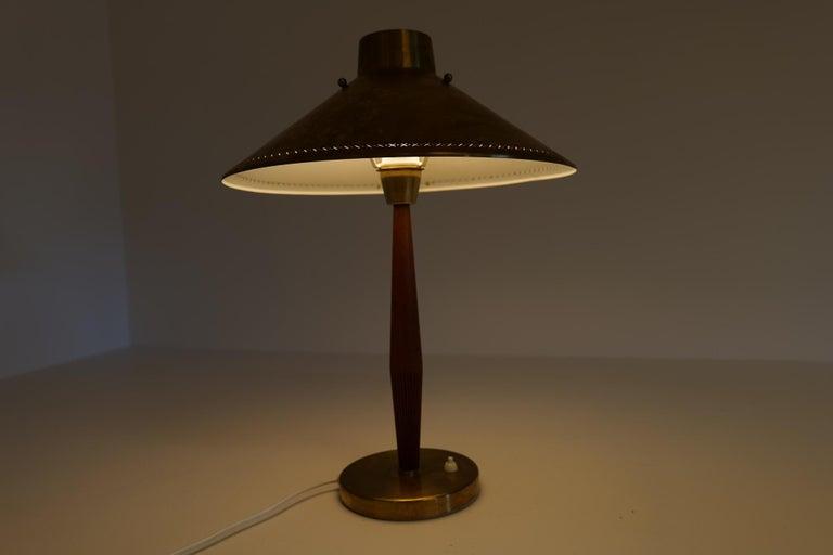 Midcentury ASEA Table Lamp Hans Bergström, Sweden, 1940 For Sale 10