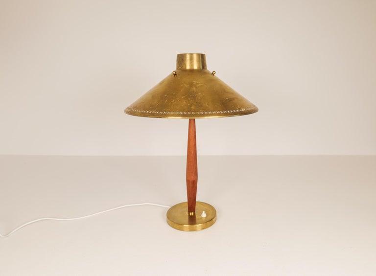 Mid-20th Century Midcentury ASEA Table Lamp Hans Bergström, Sweden, 1940 For Sale