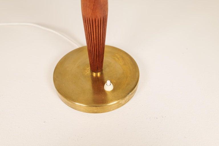 Brass Midcentury ASEA Table Lamp Hans Bergström, Sweden, 1940 For Sale