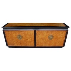 Midcentury Asian Modern Credenza or Dresser Hollywood Regency Chinoiserie
