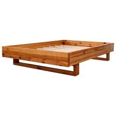 Midcentury Ate Van Apeldoorn Full Size Platform Bed Frame