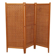 Midcentury Ate Van Apeldoorn Style Room Divider or Privacy Screen