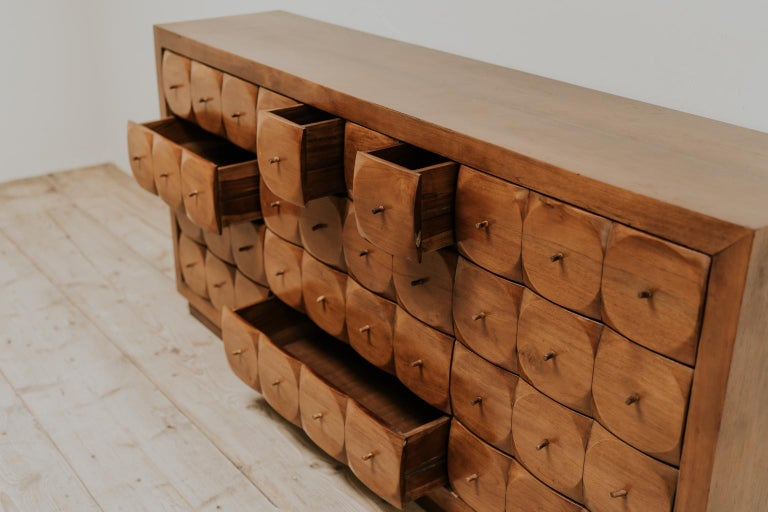 Midcentury Bank of Drawers/Enfilade In Good Condition In Brecht, BE