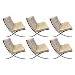 Midcentury Barcelona Lounge Chairs for Knoll