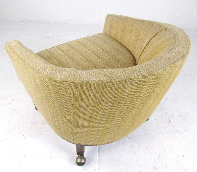 Mid-20th Century Midcentury Barrel Back Club Chair For Sale