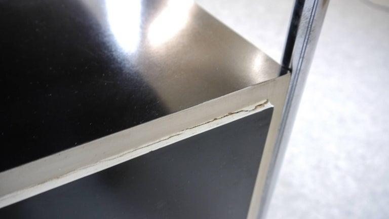 Midcentury Bauhaus Desk Tubular Steel Frame Industrial For Sale 7