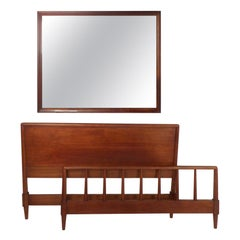 Midcentury Bed-Frame Set by Heritage-Henredon