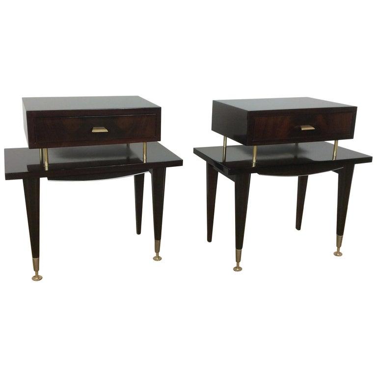 Midcentury Bedside Cabinets