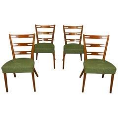 Midcentury Beech Dinning Chairs, Czechoslovakia, 1960s