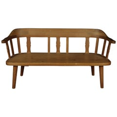 Midcentury Bench from Sweden, circa 1960