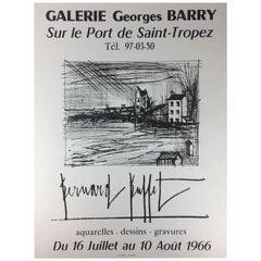 Midcentury Bernard Buffet Art Poster