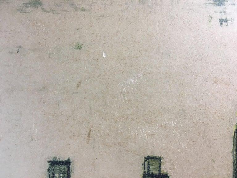 20th Century Bernard Buffet New York Skyline Limited Edition Drypoint Print For Sale