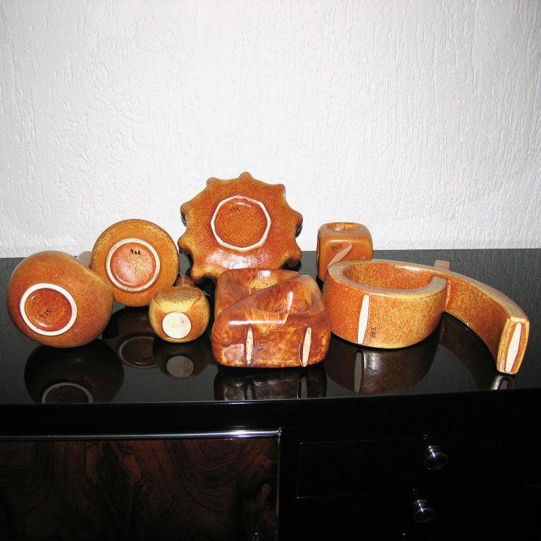 Midcentury Bertoncello Italian Ceramic Vases For Sale 9