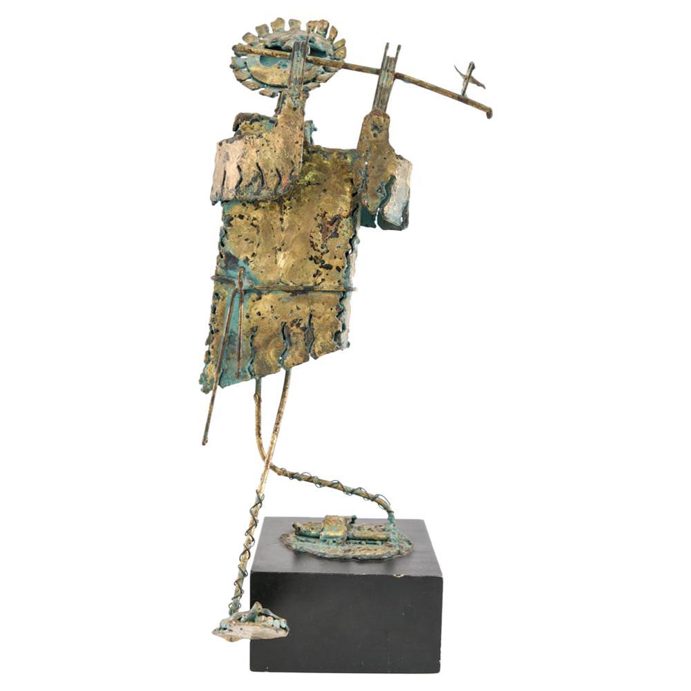 Midcentury Bijan Welded Figure Sculpture