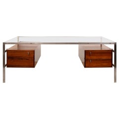Midcentury BO 555 Desk by Preben Fabricius & Jorgen Kastholm