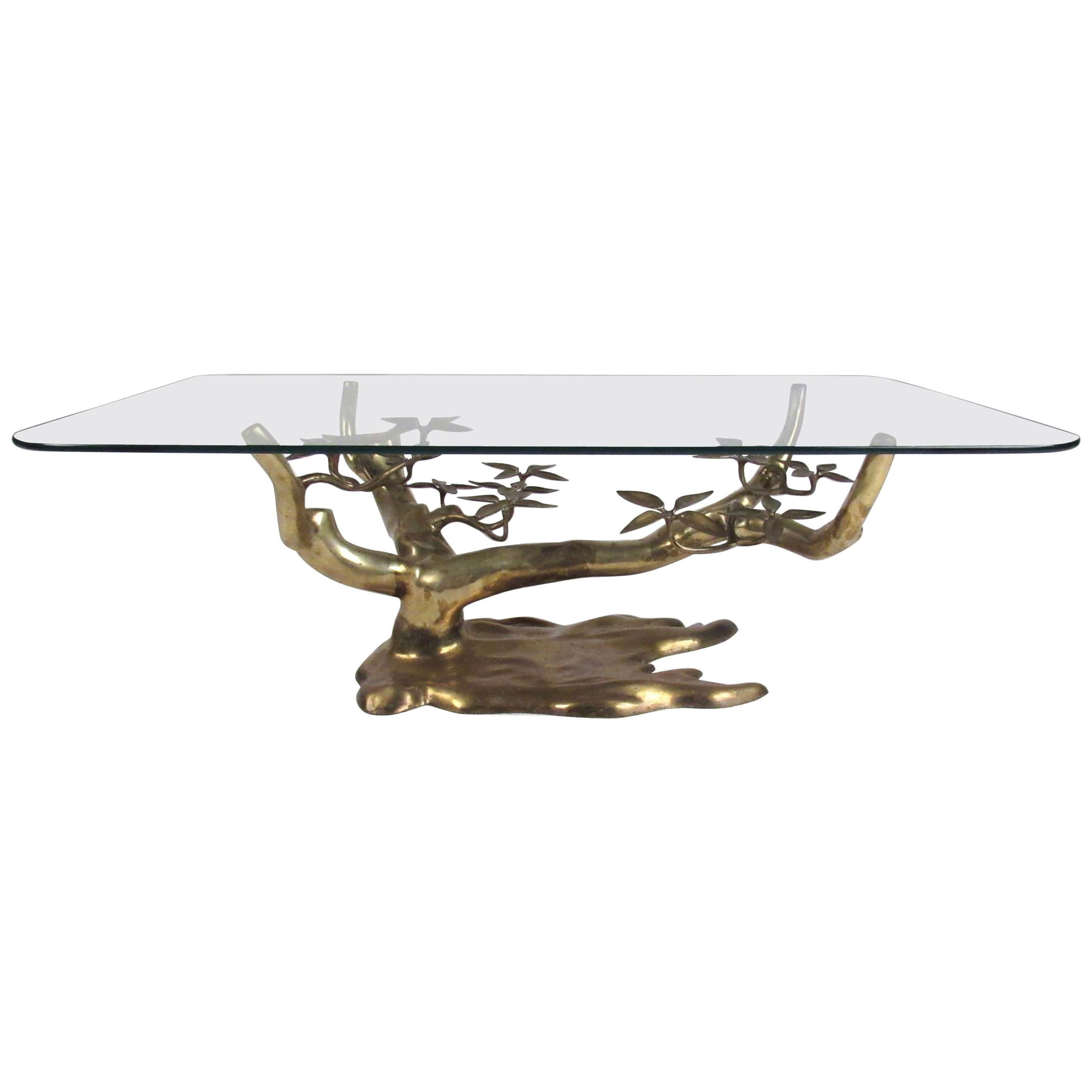 """Midcentury """"Bonsai"""" Coffee Table by Willy Daro"""