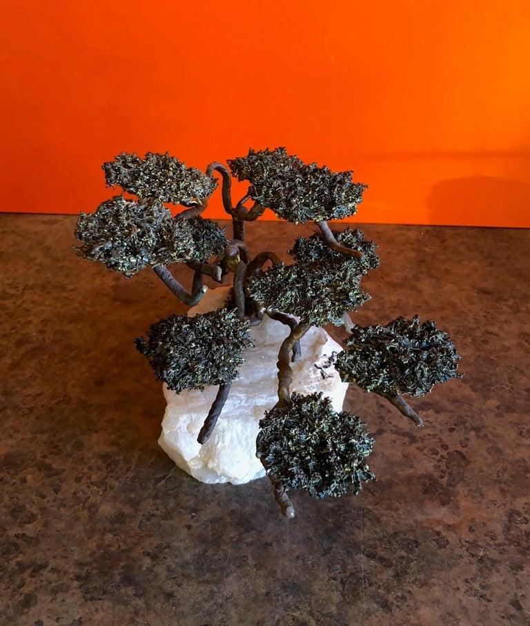 American Midcentury Bonsai Tree Sculpture by Mario Jason For Sale