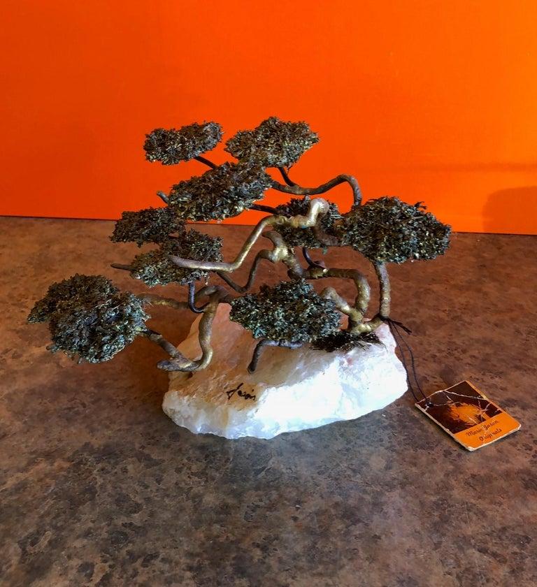 20th Century Midcentury Bonsai Tree Sculpture by Mario Jason For Sale