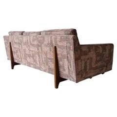 Midcentury Bracket Back Sofa by Edward Wormley for Dunbar