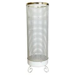 Midcentury Brass Matégot Style Hollywood Regency Umbrella Stand, France, 1950s
