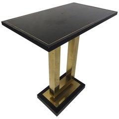 Midcentury Brass Pedestal