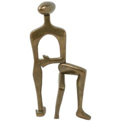 Midcentury Brass Sculpture Arleen Eichengreen and Nancy Gensburg