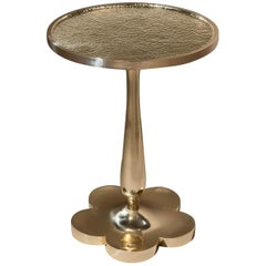 Midcentury Inspired Brass Table