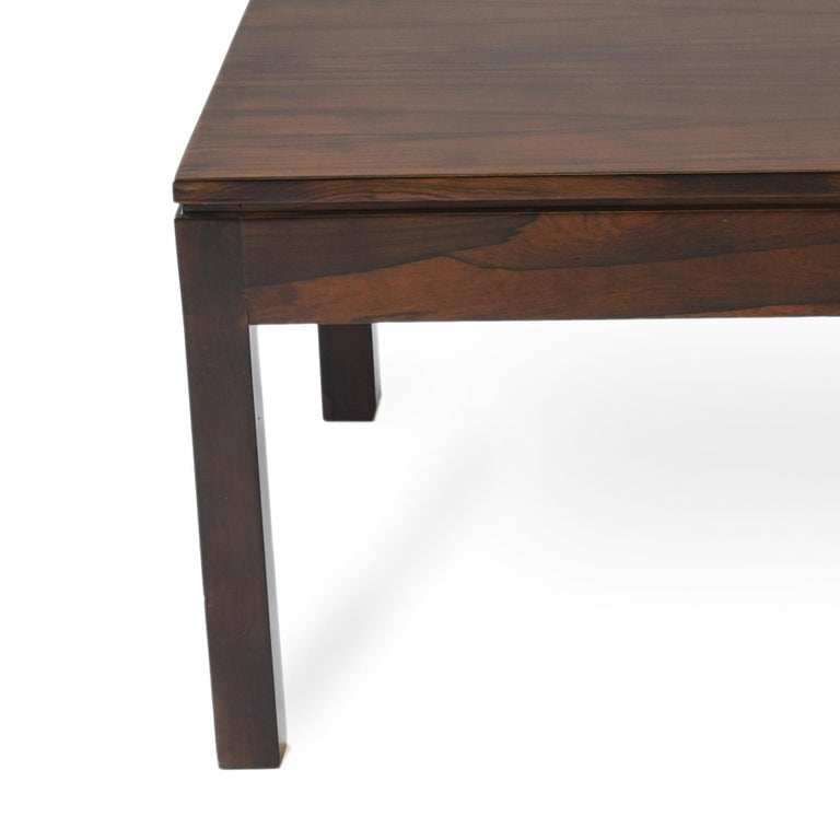 Midcentury Brazilian Coffee Table in Rosewood by Geraldo de Barros, 1960s In Good Condition For Sale In Sao Paulo, SP