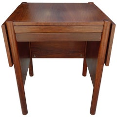 Midcentury Brazilian Drop-Leaf Table by Jean Gillon