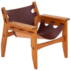 "Midcentury Brazilian Lounge Chair Model ""Kilin"" by Sergio Rodrigues"