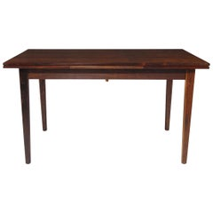 Midcentury Brazilian Rosewood Dining with Dramatic Grain