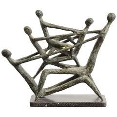 Mid-Century Modern Abstract Sculptures