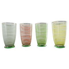 Midcentury Brussels Glasses, 1960s