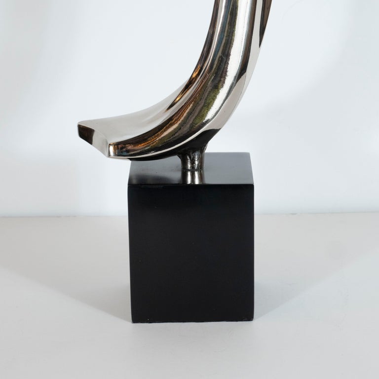 Mid-Century Modern Midcentury Brutalist Table Lamp by Maurizio Tempestini for Laurel Lamp Co. For Sale