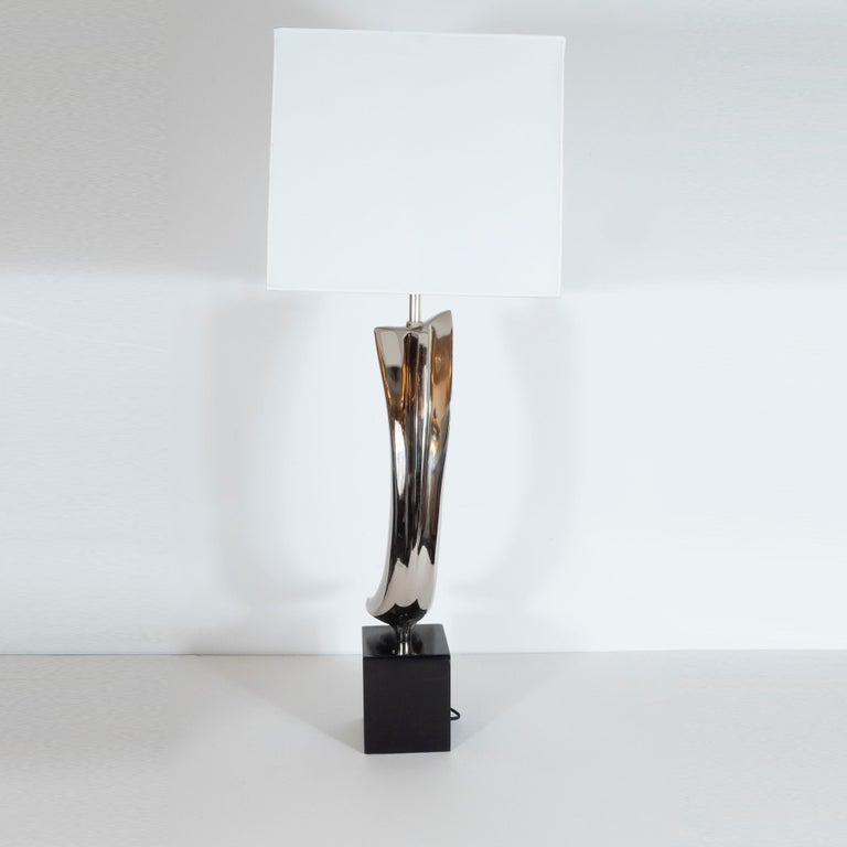 Midcentury Brutalist Table Lamp by Maurizio Tempestini for Laurel Lamp Co. For Sale 1