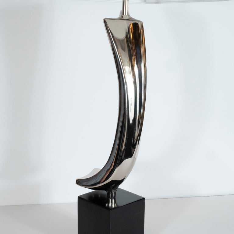 Midcentury Brutalist Table Lamp by Maurizio Tempestini for Laurel Lamp Co. For Sale 2