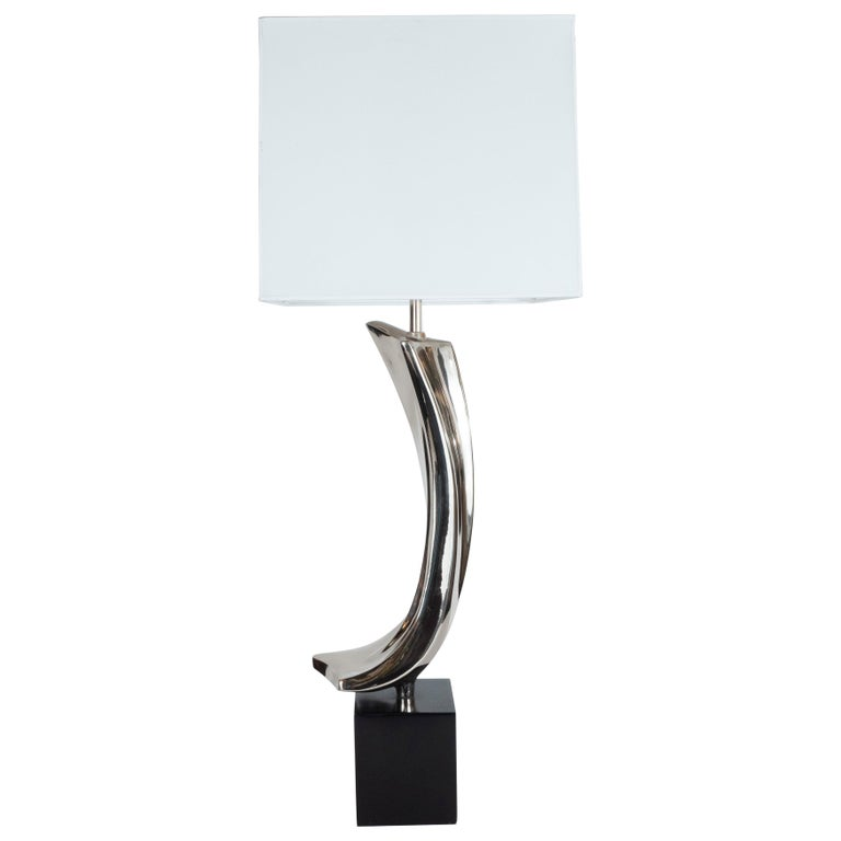 Midcentury Brutalist Table Lamp by Maurizio Tempestini for Laurel Lamp Co. For Sale