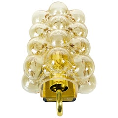 Midcentury Bubble Glass Wall Lamp by Helena Tynell for Limburg, 1960s
