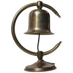 Midcentury Butler Bell in Brass by Cawa, Denmark, 1960s