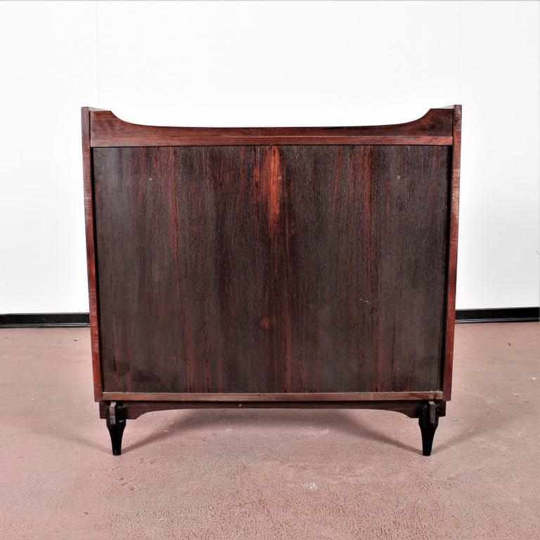 Mid-20th Century Midcentury C. Salocchi for Sormani Chest of Drawers with Vanity, 1960s, Italy For Sale