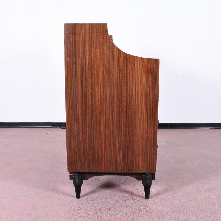 Midcentury C. Salocchi for Sormani Chest of Drawers with Vanity, 1960s, Italy For Sale 1