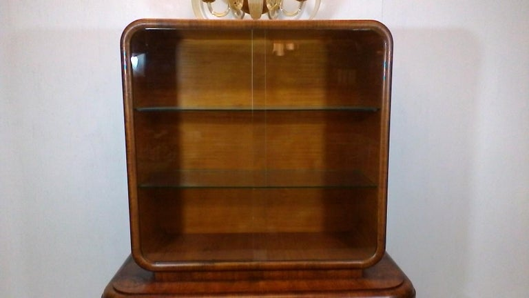 Mid Century Modern Midcentury Cabinet By Jindřich Halabala 1930s For
