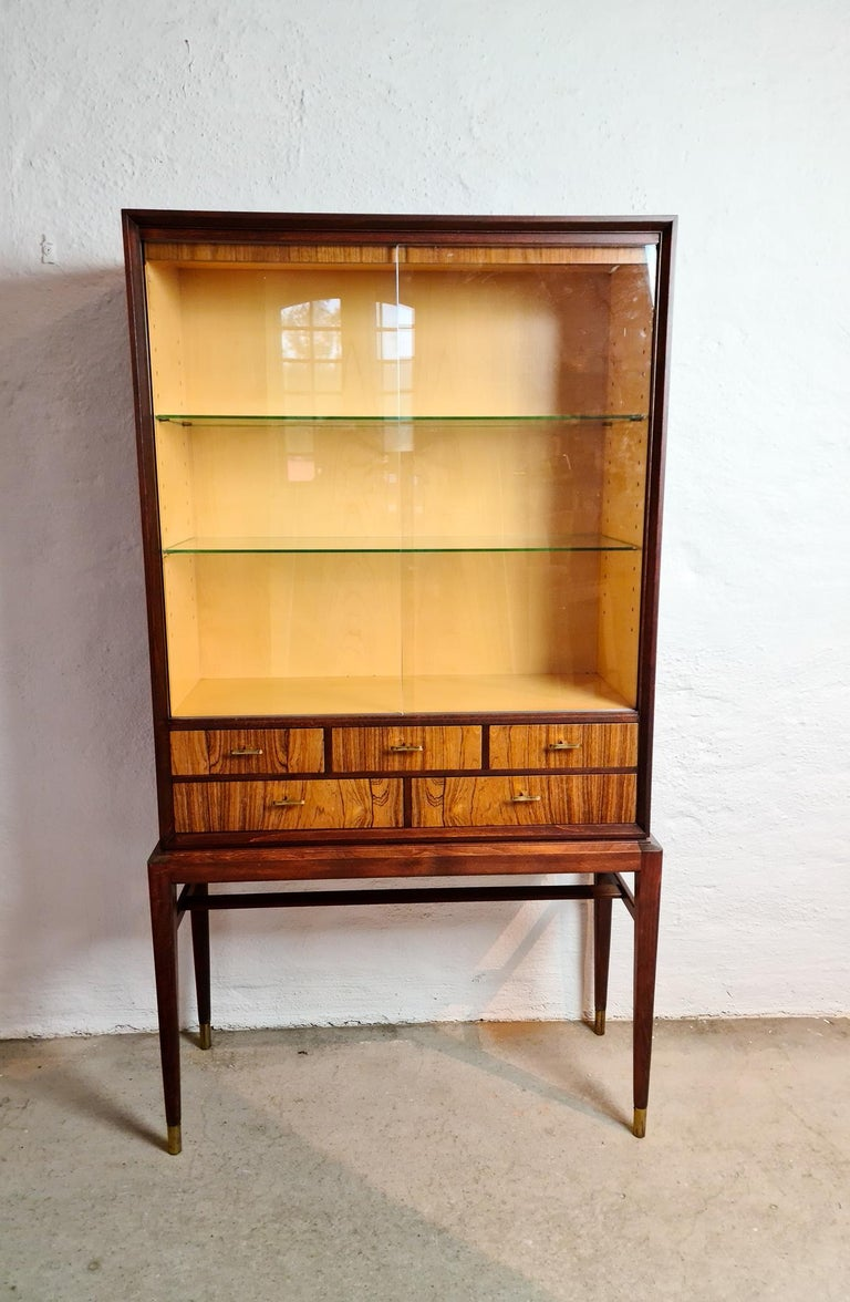This beautiful cabinet was designed by Svante Skogh for Seffle Möbelfabrik, circa 1959 in Sweden.