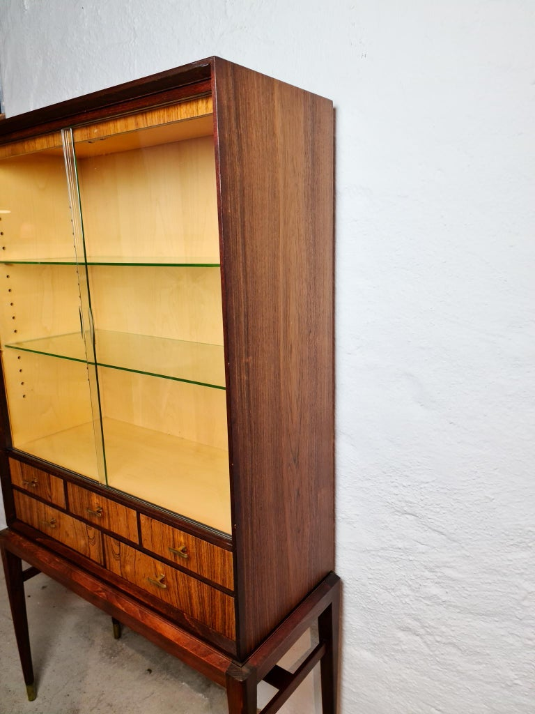 Mid-20th Century Midcentury Cabinet by Svante Skogh for Seffle Möbelfabrik, Sweden For Sale