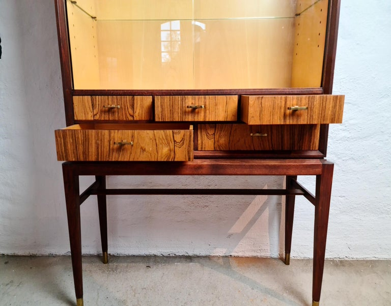Rosewood Midcentury Cabinet by Svante Skogh for Seffle Möbelfabrik, Sweden For Sale