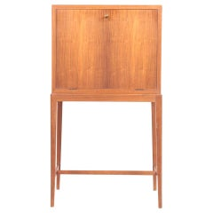 Midcentury Cabinet in Rosewood by Cabinetmaker Frits Henningsen, 1950s